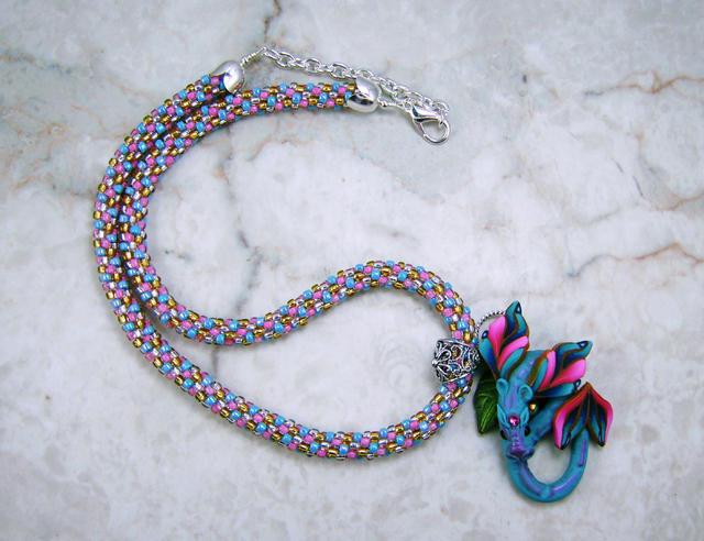 Name:  pinkandblue dragon necklace 4.jpg Views: 49 Size:  58.5 KB