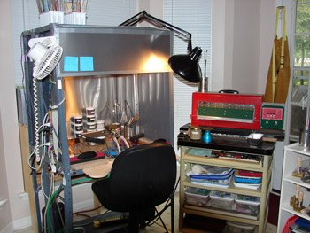 Ventilation Hood Idea And Torch Set Up Lampwork Etc