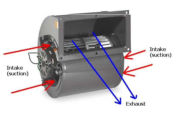 how to clean squirrel cage blower fan